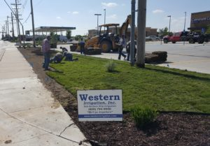 Landscaping project by Western Irrigation, Garden City - KS