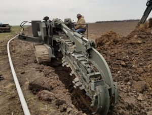 agriculture irrigation system instalation by Western Irrigation in Garden City, KS
